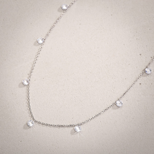 Collier - Silver Darling