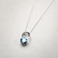 Collar - Blue Sparkle