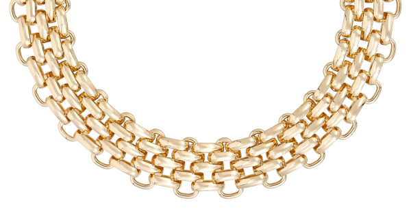 Statement-ketting - Chunky Gold