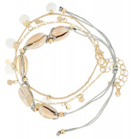 Armband-Set - Golden Shell