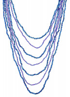 Collar - Blue Pearls