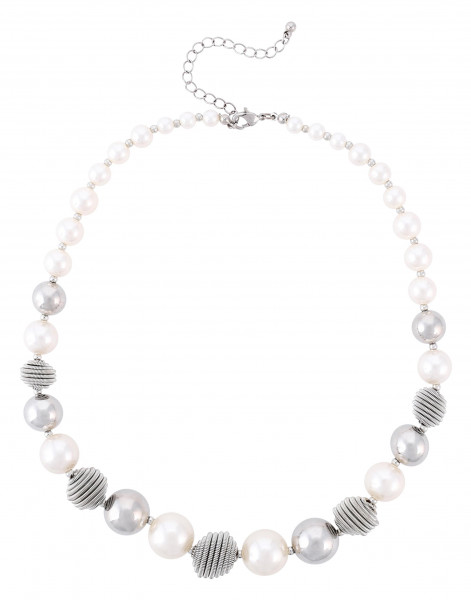 Kette - Silver Pearls