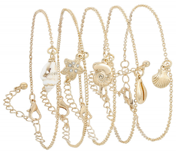 Armband-Set - Golden Sea