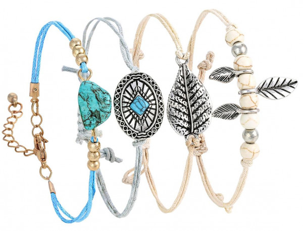 Pulsera - Cute Lovely Leaves