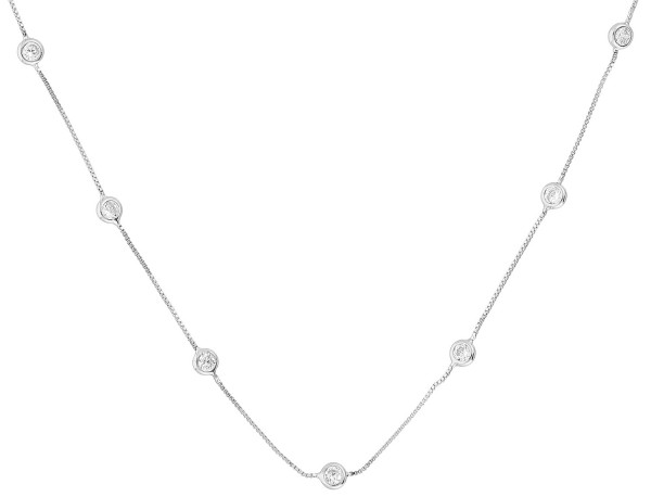Collier - Fine and Fancy Silver