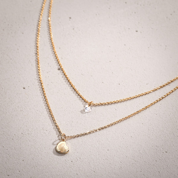 Collier - Layering Crystal