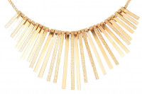 Collar - Golden Stripes