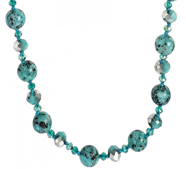 Ketting - Sparkling Turquoise