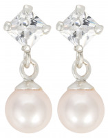 Orecchini a perno - Lovely Pearls