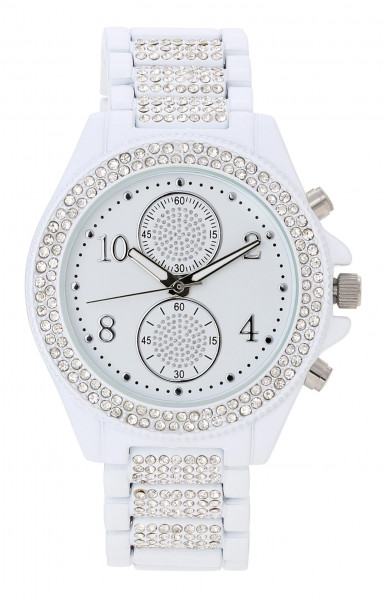 Montre - White Crystals