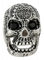 Heren Ring - Black Skull