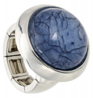 Ring -  Marbled Blue
