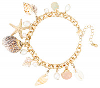 Pulsera de charms - Beach Love