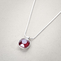 Ketting - Glossy Red