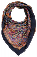 Foulard - Colourful Paisley