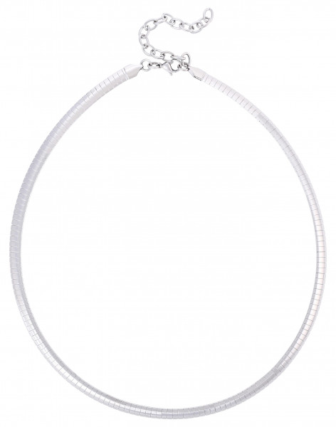 Collar - Silver Stainless Steel