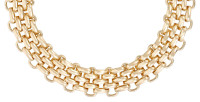 Collier accroche-regard - Chunky Gold