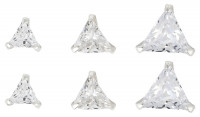 Set-Ohrstecker - Sparkling Triangle
