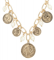 Collar - Gold Coins