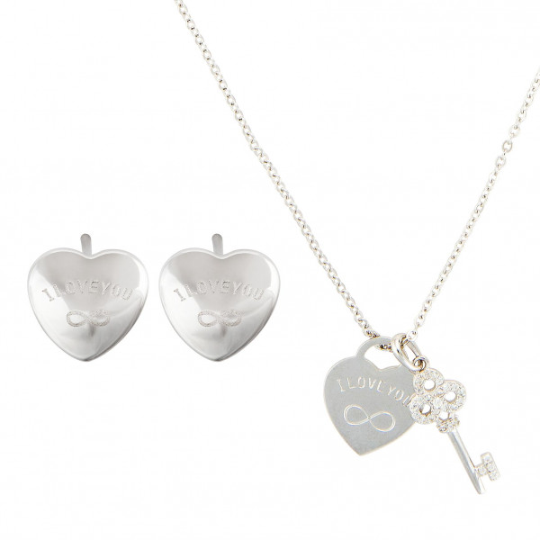 Silver set - Secret Hearts