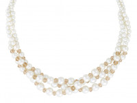 Kette - Twisted Pearls