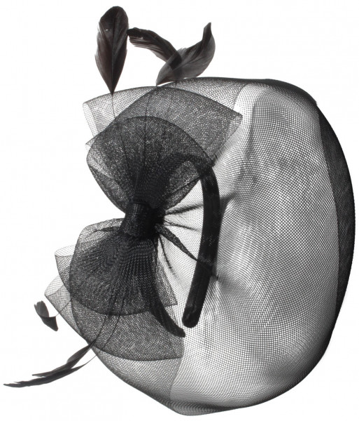 Fascinator - Black Beauty