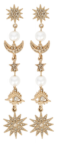 Boucles d'oreilles - Pearly Cosmic