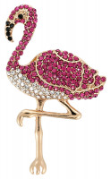 Broche - Cute Flamingo