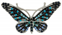 Broche - Blue Butterfly