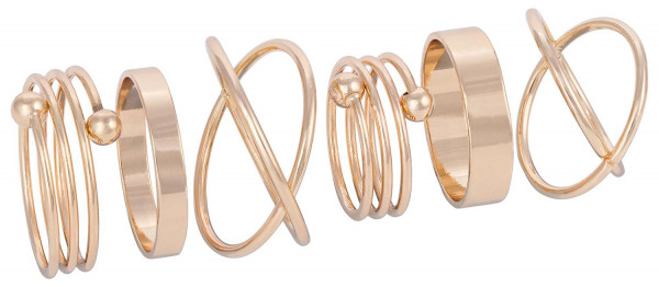 Ring-Set - Golden Graphics