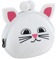 Purse - White Cat