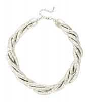 Necklace - Silver Structure