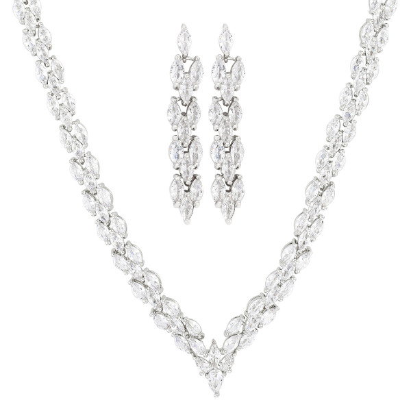 Collier-set - Fabulous Silver