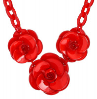 Collar - Red Roses