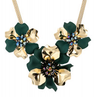 Collar - Shimmering Flowers