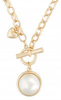Collier - Pearly Heart