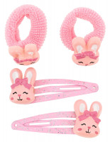 Haarsieraden set - Friendly Rabbits