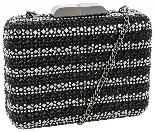 Clutch box - Black Sparkle