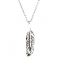 Kette - Silver Feather