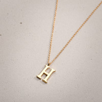 Collar - Golden H