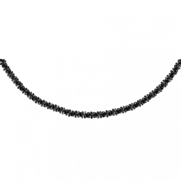 Necklace - Just Black Glam