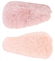 Kinder Haarclip-Set - Fake Fur