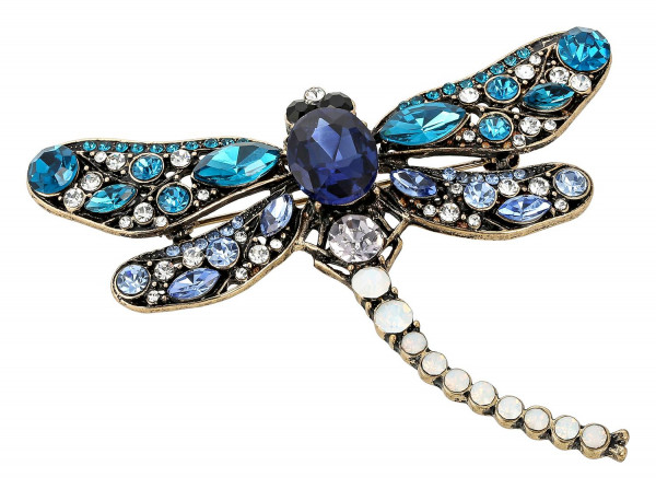 Broche - Antic Dragonfly