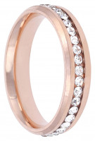 Ring - Zirconia Rose Gold