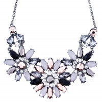 Collier - Shiny Flowers