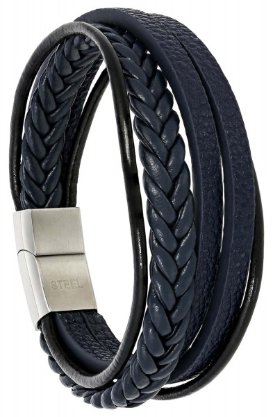 Bracelet - Blue Leather
