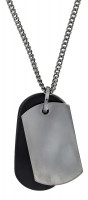 Heren Ketting - Military Dog Tag