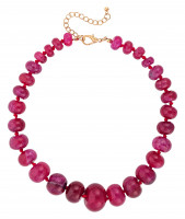 Collar - Red Achat
