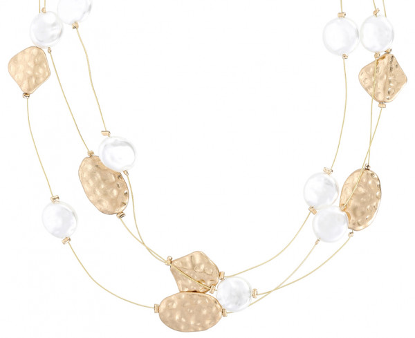 Collar - Baroque Pearl