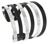 Armband - Black and Silver